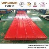 Hoja acanalada del material para techos de la anchura 820 eficaces con de alta resistencia