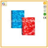 Servicio de impresión barato del cuaderno espiral