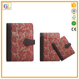 Impression en cuir professionnelle de cahier d'unité centrale