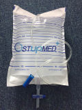 十字のアウトレットが付いているOEM Mutifunctional PVC排水袋