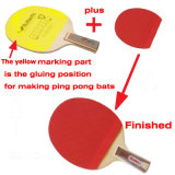 De hete Machine van de Verpakking van de Machines van de Lijm van de Laag voor de Knuppels van de Pingpong/de Knuppel van Tenis van de Lijst/de Peddel van de Pingpong