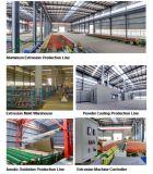 Profil en aluminium industriel anodisé normal de couleur argentée pour le stand d'exécution