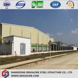 Edificio lungo prefabbricato/magazzino/costruzione della struttura d'acciaio della portata