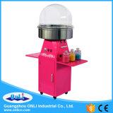 Machine et chariot automatiques électriques commerciaux de sucrerie de coton de fleur