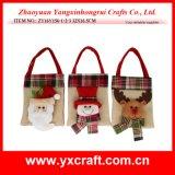 De gevulde Decoratie van Kerstmis van het Stuk speelgoed - de Kerstman - Sneeuwman - Rendier