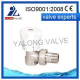 Soupape d'arrêt en laiton de radiateur (YL304)
