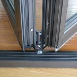 Qualitäts-thermischer Bruch-Aluminiumprofil-Falz-Tür K07006