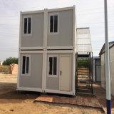 Casa do recipiente de dois andares de modular
