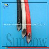 Silikon-Gummi-Fiberglas-Hülse innerhalb der Gummi-und Außenseiten-Faser