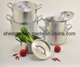 Il Cookware economizzatore d'energia del POT del POT di alluminio rivestito di ceramica antiaderante della salsa imposta Sx-A005