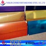 Feuille en aluminium enduite de couleur en stock en aluminium