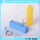 2600mAh banco portable cargador externo de la batería de la energía con tapa deslizante (ZYF8061)