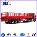 الصين صناعة 3 محور العجلة [40فت] منفعة سياج شحن [سمي] مقطورة, [سد ولّ] وتد [سمي] مقطورة