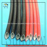 Manicotto della vetroresina della gomma di silicone all'interno della fibra della parte esterna e della gomma