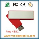Novo girar a vara de alumínio da memória do USB do ABS modelo