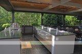 島のキャビネット(WH-D473)が付いている贅沢なステンレス鋼の屋外の台所