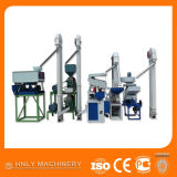 Tipo commerciale macchina automatica di riseria di 1100kg/H/piccola riseria