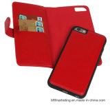 Beweglicher Handy-Fall der abnehmbaren ledernen Mappen-2in1 für iPhone