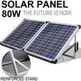 Mono портативный набор панели солнечных батарей 80W для поручая батареи