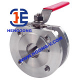 DIN/API/JIS Floating Wafer Electric Stainless Steel Ball Valve
