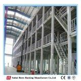 Mezzanine van het Staal van de Opslag van het pakhuis Geïntegreerdee Treden