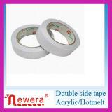Cinta lateral doble adhesiva del tejido