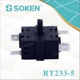 Interruptor rotatorio del calentador del patio de Soken