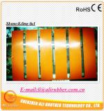 Esteira resistente ao calor do aquecimento da borracha de silicone de Electricial com espaço em branco