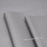 O Weave Textured o couro do plutônio, couro do saco do projeto da manta, couro decorativo