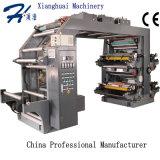 Печатная машина Flexo вьюрка высокоскоростная при Non сплетенная полиэтиленовая пленка бумаги крена