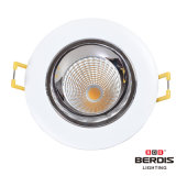 Marco LED ajustable Downlight del cromo