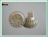 Iluminación del punto de la luz de bulbo de la modificación LED MR16 de DC12V 5W 6W LED con el Ce RoHS para los reemplazos 50W