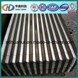 中国から成っている波形の鋼板