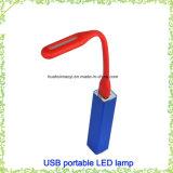 Светильник USB СИД высокого качества промотирования портативный перезаряжаемые