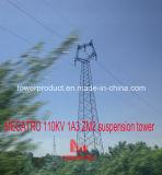 Torretta della sospensione di Megatro 110kv 1A3 Zm2