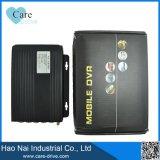 3G 4 Registreertoestel van de Auto DVR van het Kanaal het Mobiele, SIM het Systeem van de Kaart DVR