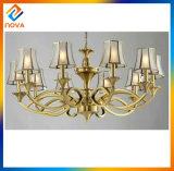 Illuminazione Pendant LED del bronzo domestico moderno del lampadario a bracci di alta qualità