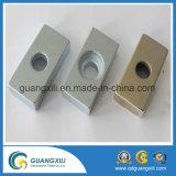 N45 Magneet van het Neodymium van het Gat van de Deklaag de Nikkel Verzonken