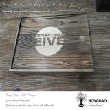 Hongdao Förderung kundenspezifisches Weinlese-hölzernes Geschenk Box_D