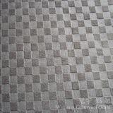 Velours 100% gravé en relief décoratif de polyester de tissu de sofa