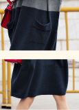 Vestido da caxemira das mulheres com garganta da tartaruga (13brdw051)