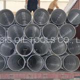 Filtres pour puits de fond de pipe d'AISI 316L