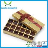 Doos van de Gift van de Chocolade van de douane de Hart Gevormde met Duidelijk Deksel