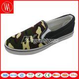 Chaussures occasionnelles d'oisif de loisirs de toile confortable d'hommes