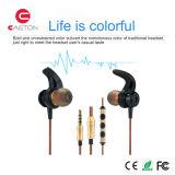 MP3/MP4のための金属の箱のヘッドホーンの携帯電話のアクセサリのイヤホーン