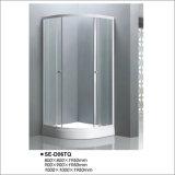Sala de ducha de vidrio templado con bandeja Sector