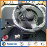 Mini carregador dianteiro hidráulico da roda com controle piloto hidráulico