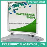 Feuille blanche de mousse de /PVC de panneau de mousse de PVC