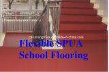 Haltbarer hoher elastischer flexibler Spua Schule-Bodenbelag