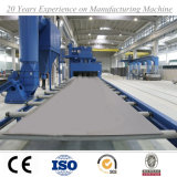 Macchina di granigliatura del trasportatore a rulli della macchina di granigliatura della struttura d'acciaio